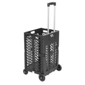 COLLAPSIBLE 4 WHEEL ROLLING UTILITY CART